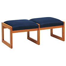 Fabric Two Seat Bench, LES-C2001B3