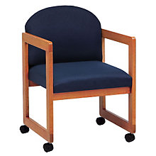 Fabric Guest Chair with Casters, LES-C1301C3