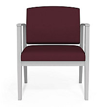 Amherst Steel Oversized Fabric Guest Chair, 8814227