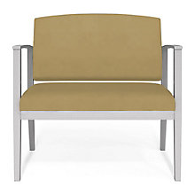 Amherst Steel Bariatric Fabric Guest Chair, 8814228