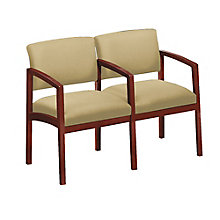 Lenox Two Seater with Center Arm in Fabric, 8825889