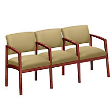 Lenox Three Seater with Center Arm in Fabric, 8825894