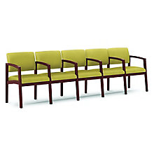 Lenox Five Seater with Center Arms in Fabric, 8825898