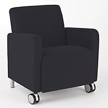 Ravenna Mobile Guest Chair, LES-Q1401C8