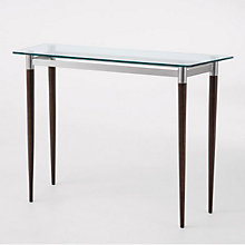 Siena Glass Top Sofa Table, LES-Q1575T5S