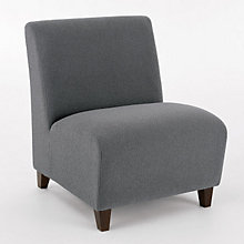 Siena Armless Big and Tall Guest Chair, LES-Q1602G3