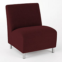 Ravenna Big & Tall Armless Guest Chair, LES-Q1602G8