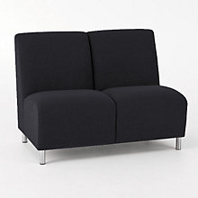 Ravenna Armless Two Seater, LES-Q2402G8