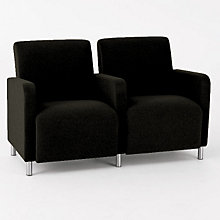 Ravenna Two Seater with Center Arm, LES-Q2403G8