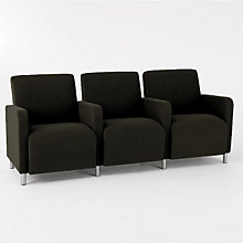 Ravenna Three Seater with Center Arms, LES-Q3403G8