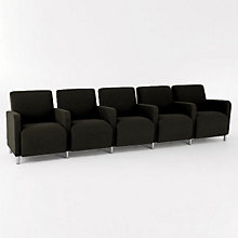 Ravenna Five Seater with Center Arms, LES-Q5403G8