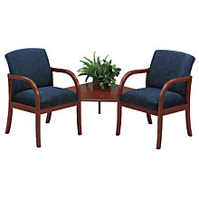 Two Seater with Connecting Corner Table, LES-W2321G5