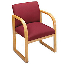 Fabric Sled Base Guest Chair, 8802883