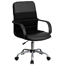 bonded leather office chair, 8812243