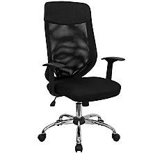 Black mesh chair, 8812244