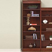 "Louis Six Shelf Bookcase - 84""H, LIE-101-HO3084-RTA"