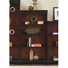 "St. Ives Four Shelf Two-Tone Bookcase - 60""H, LIE-260-HO3060-RTA"