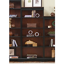 "St. Ives Five Shelf Two-Tone Bookcase - 72""H, LIE-260-HO3072-RTA"