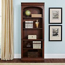 "Brayton Manor Five Shelf Bookcase - 76""H, 8803093"