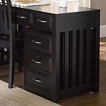 """Hampton Bay Black Mobile Two Drawer File Cabinet - 16""""W, LIE-717-HO146"""