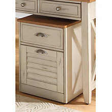 "Ocean Isle Mobile File Cabinet - 16""W x 20""D, 8802020"