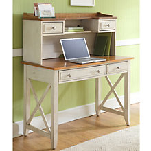 "Ocean Isle Writing Desk with Hutch - 44""W, 8802024"