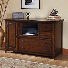 "Leyton I Compact Storage Credenza with Casters - 52""W, 8802153"