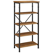 "Austin Four Shelf Bookcase - 54""H, 8805163"