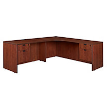 "71"" Corner Credenza L Desk - Left or Right Return, 8826966"
