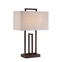 Farren Rectangular Table Lamp, 8822664