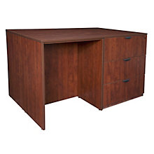 Lateral File/ 3 Desk Quad, 8821623