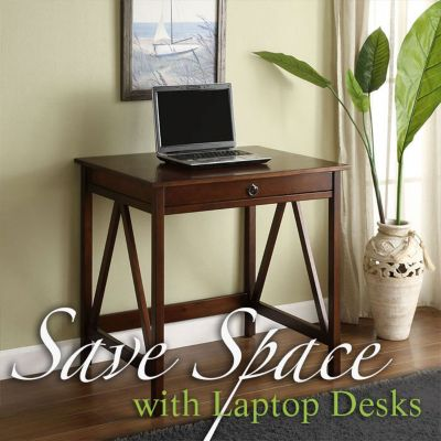 Save Space & Enhance Productivity With a Home Office Laptop Desk