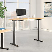 "Adjustable Height Desk 60""W x 30""D, 8825638"