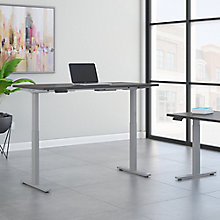 "Adjustable Height Desk 72""W x 30""D, 8825640"