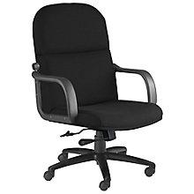 Comfort Big and Tall Fabric Executive Chair, MAL-1801AG