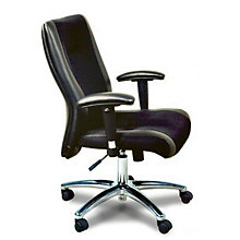 Mercado High Back Leather and Mesh Executive Chair, MAL-2522