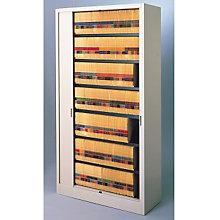 """Tambour Door File Cabinet - 7 Tier, 42""""W, MAL-8342A3"""