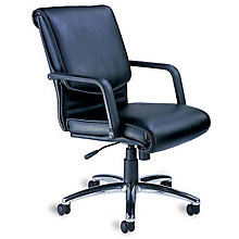 Mercado Leather Desk Chair, MAL-AL