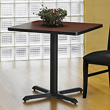 "Square Break Room Table - 36"" x 36"", MAL-CA36SLB"