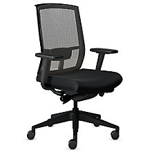 Gist Mesh Back Fabric Seat Ergonomic Task Chair, 8814089