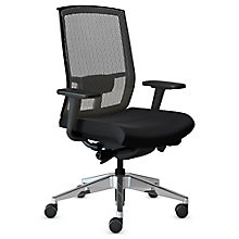 Gist Mesh Back Ergonomic Task Chair with Aluminum Base, 8814090