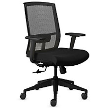 Gist Mesh Back Fabric Seat Task Chair, 8814091