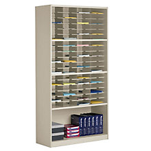 Multi-Function Mail Room Cabinet - 72 Pockets, MAL-SR4280B