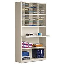 Multi-Function Mail Room Cabinet - 30 Pockets, MAL-SR4280C