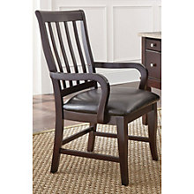 Monarch Slat Back Chair in Vinyl, 8806886