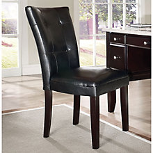 Monarch Parsons Chair in Vinyl, 8806885