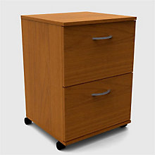 Two Drawer Mobile File MEG 10226