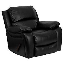 Black Bonded Leather recliner, 8812261