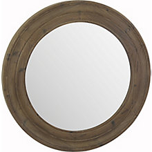 Porthole Mirror Brown, 8809095