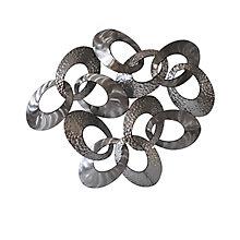 Looped Metal Wall Decor, 8809100
